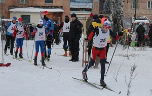 Детский лыжный праздник ЛК ИЯФ СО РАН