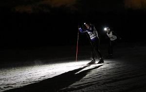 Вечерняя гонка с фонарями