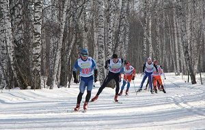 Первенство Сибири по лыжным гонкам «44-й Новосибирский лыжный сверхмарафон 60 км- Мемориал В.Пелеганчука»